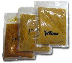 冷凍カレー3種