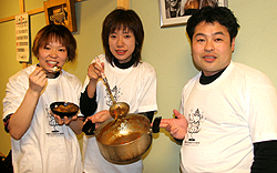 トオヤマンさん、モモンガさん、若旦那さん