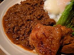 味乃なじみ:牛・鶏・ブーカレー