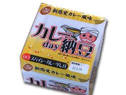 カレー day 納豆
