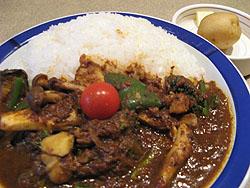 エチオピア:野菜カリー