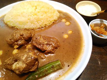 香辛亭:チキンカレー
