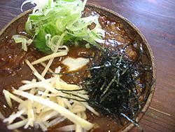 蕎麦工房 マル新:ミニカレー丼