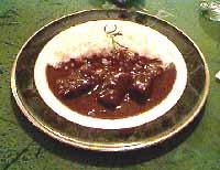 オーベルジュ・ドゥ・弥上:特製ビーフカレー