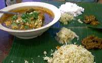 Muthu's Curry Restaurant:フィッシュヘッドカレー