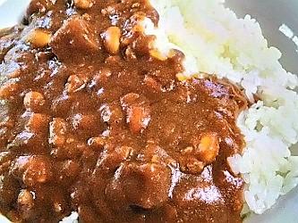 水戸納豆カレー:実物