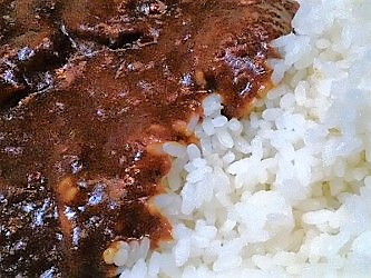 BEEF CURRY:実物