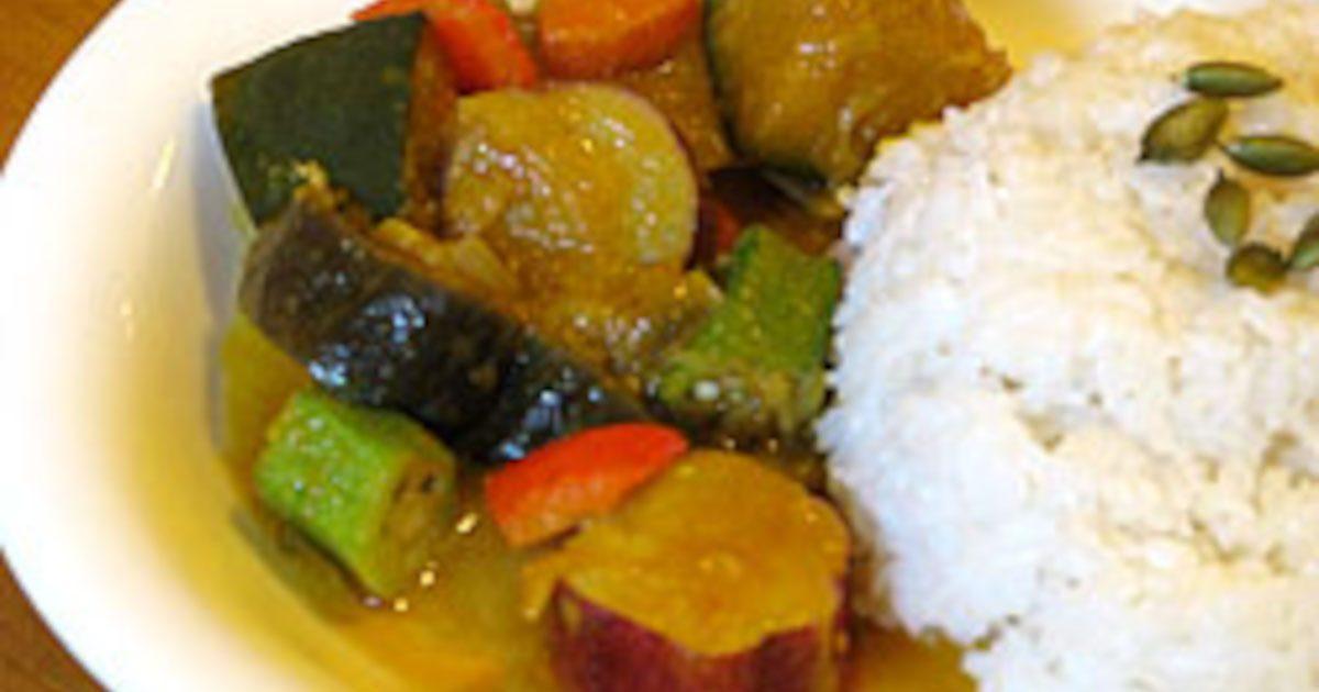 ネパール風野菜カレーのレシピ