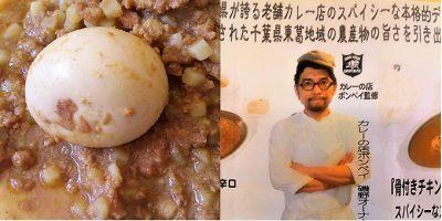 KASHIWAキーマカレー:実物&リーフレット