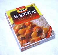 韓国のレトルトカレー