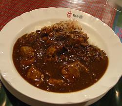 山小屋:納豆カレー